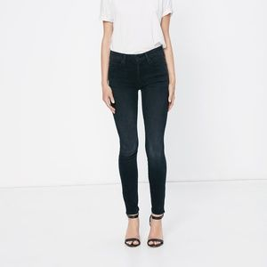 Mother denim sz 26 high waisted looker jeans